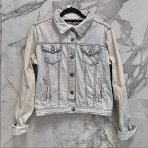 Cello Jeans Studded Jean Jacket   Small